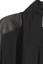 Jacket with a shawl collar - Black - Ladies | H&M CN 3