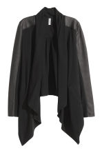 Jacket with a shawl collar - Black - Ladies | H&M CN 2