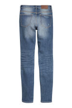 Slim Regular Trashed Jeans - 牛仔蓝 - 女士 | H&M CN 3