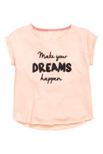 Pyjamas with shorts - Powder pink - Kids | H&M CN 2