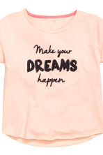 Pyjamas with shorts - Powder pink - Kids | H&M CN 4