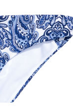 Bikini bottoms - Blue/Paisley - Ladies | H&M CN 3