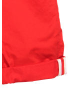 Cotton shorts Slim fit - Red - Men | H&M CN 2