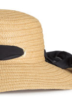 Cappello in cartapaglia - Naturale - DONNA | H&M IT 3