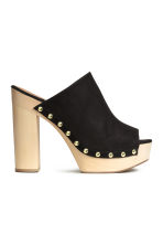 Platform mules - Black - Ladies | H&M CN 2