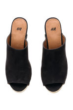 Platform mules - Black - Ladies | H&M CN 3