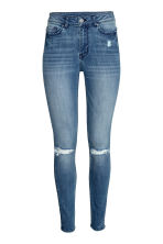 Skinny High Ankle Jeans - 牛仔蓝 - 女士 | H&M CN 1