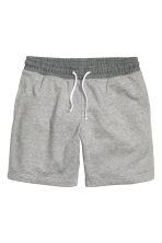Sweatshirt shorts - Grey marl - Men | H&M CN 2