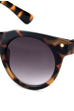 Sunglasses - Brown/Patterned - Ladies | H&M CN 3