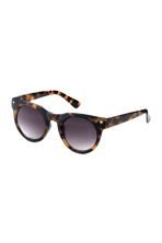 Sunglasses - Brown/Patterned - Ladies | H&M CN 1