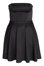 H&M+ Bandeau dress - Black - Ladies | H&M CN 2