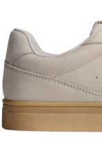 Leather trainers - Light mole - Ladies | H&M CN 4
