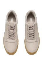 Leather trainers - Light mole - Ladies | H&M CN 2