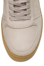 Leather trainers - Light mole - Ladies | H&M CN 3