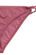 Bikini bottoms - Burgundy - Ladies | H&M CN 3