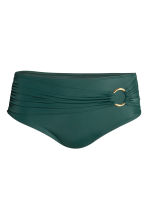 H&M+ Bikini bottoms - Dark green - Ladies | H&M CN 2