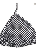 H&M+ Triangle bikini top - Black/Spotted - Ladies | H&M CN 3