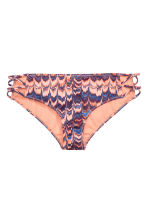 Bikini bottoms - Apricot/Patterned - Ladies | H&M GB 2