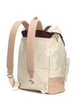 Canvas backpack - Natural white - Men | H&M CN 2