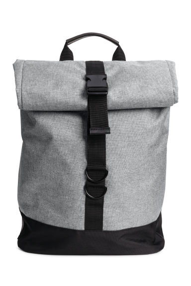 Backpack - Grey marl - Men | H&M