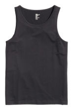 Vest top - Black - Men | H&M 3