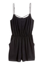 Playsuit - Black - Ladies | H&M GB 2