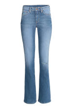 Boot cut Regular Jeans - Light denim blue - Ladies | H&M GB 2