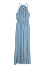 Sleeveless maxi dress - Light blue - Ladies | H&M GB 2