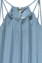 Sleeveless maxi dress - Light blue - Ladies | H&M GB 3