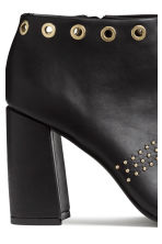 Ankle boots with studs - Black - Ladies | H&M CN 4