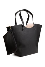 Shopper with clutch - Black - Ladies | H&M CN 1