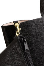 Shopper with clutch - Black - Ladies | H&M CN 3