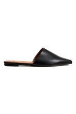 Flat mules - Black - Ladies | H&M GB 1