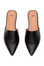 Flat mules - Black - Ladies | H&M GB 2