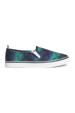 Slip-on trainers - Turquoise - Ladies | H&M CN 1