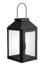 Large metal lantern - Black - Home All | H&M GB 2
