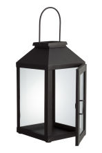 Large metal lantern - Black - Home All | H&M GB 3