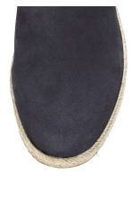 Suede espadrilles - Dark blue - Men | H&M CN 3