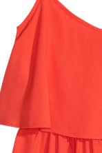 Sleeveless dress - Coral red - Ladies | H&M CN 3