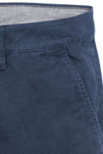 Chino shorts - Dark blue - Men | H&M CN 2