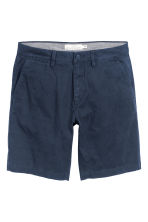 Chino shorts - Dark blue - Men | H&M CN 1