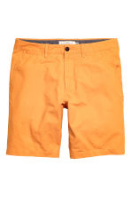 Chino shorts - Orange - Men | H&M CN 1
