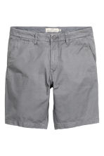 Chino shorts - Grey - Men | H&M CN 2
