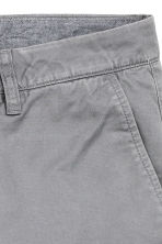 Chino shorts - Grey - Men | H&M CN 3