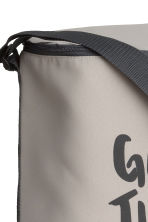 Cool bag with a text print - Light mole - Home All | H&M GB 2