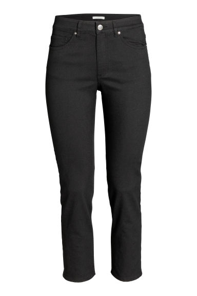 Ankle-length trousers - Black - Ladies | H&M GB 1