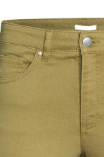Ankle-length trousers - Olive green - Ladies | H&M CN 3