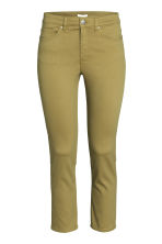 Ankle-length trousers - Olive green - Ladies | H&M CN 1