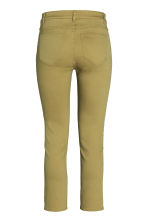 Ankle-length trousers - Olive green - Ladies | H&M CN 2