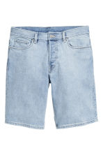 Shorts in jeans - Blu denim chiaro - UOMO | H&M IT 2